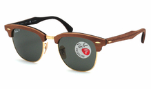 Ray-Ban 3016M Clubmaster Wood 1181/58