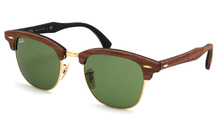 Ray-Ban 3016M Clubmaster Wood 1182/4E
