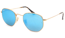 Ray-Ban 3548N Highstreet 001/9O Hexagonal Flat Lenses