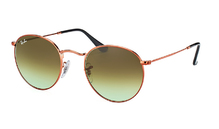 Ray-Ban 3447 Round Metal 9002/A6