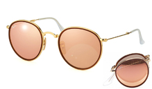 Ray-Ban 3517 Round Folding Flash 001/Z2
