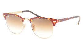 Ray-Ban 3716 Clubmaster Metal 9008/51