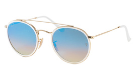 Ray-Ban 3647N Round Double Bridge 001/4O