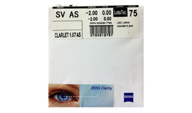 Carl Zeiss Clarlet 1.67 AS Lotutec