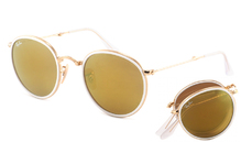 Ray-Ban 3517 Round Folding Flash 001/93
