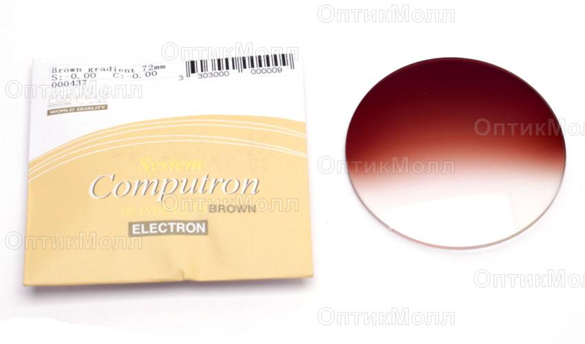 Линзы Brown gradient 1.56 HMC